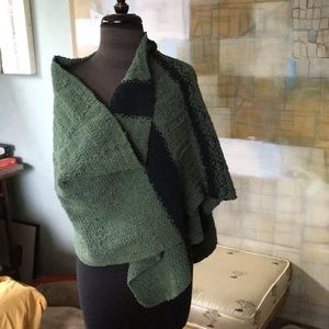 Very Very Long Hand Knit Chenille Wrap